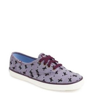 NEW Keds Taylor Swift Bow Print Sneakers 7.5